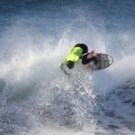Nicolás Vargas y Jessica Anderson ganaron la cuarta fecha del Circuito Nacional de Surf