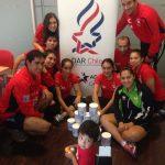 Deportistas DAR Chile realizaron donación a niño con alergia alimentaria