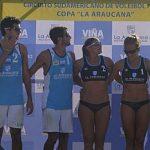 Duplas argentinas se quedaron con la segunda fecha del Círcuito Sudamericano Volley Playa