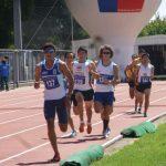 Olivera, Encina y López destacaron en el Nacional de Atletismo Fondo y Medio Fondo