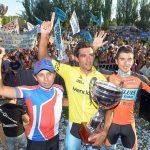 Patricio Almonacid y Adrián Alvarado subieron al podio en la versión 38 de la Vuelta a Mendoza