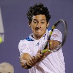 Garín logró gran triunfo ante Schwartzman en la Qualy del ATP de Buenos Aires