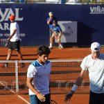 Garín y Jarry cayeron en los cuartos de final de dobles del ATP de Viña del Mar