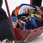 Stephanie Joffroy debió abandonar en los cuartos de final del Ski Cross tras sufrir una fuerte caída