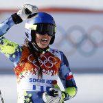Noelle Barahona logró el puesto 34 de la prueba de descenso en Sochi 2014