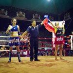 Daniela Callejas se coronó bicampeona mundial de Muay Thai