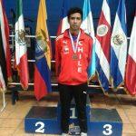 Iván León logró medalla de bronce en el Open Junior Guatemala de Badminton