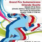 San Carlos de Apoquindo recibirá el retorno del torneo de atletismo 'Orlando Guaita'