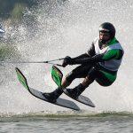 Rodrigo y Felipe Miranda iniciaron su participación en el Circuito Mundial de Esquí Náutico