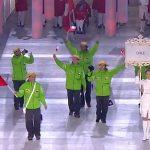Chile participó en la Ceremonia de Inauguración de los Juegos Paralímpicos de Invierno