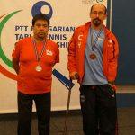 Cristian Dettoni y Juan Carlos Sepúlveda lograron oro por equipos en el Hungría Open