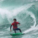 Guillermo Satt se consagró tetracampeón nacional de surf