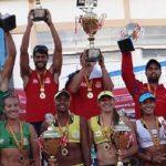 Los primos Grimalt ganaron la quinta fecha del Circuito Sudamericano Volley Playa