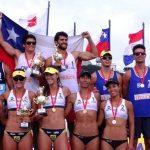 Primos Grimalt se quedan con la cuarta fecha del Sudamericano de Volley Playa