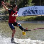 Valentina González logra tres récords personales en la Copa PF de esquí naútico