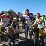Esteban Smith fue el ganador en motos del Rally de los Valles 2014