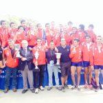 Chile se coronó campeón del Sudamericano Juvenil y Sub 23 de Remo