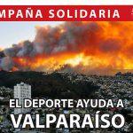 """Comité Olímpico de Chile inicia campaña solidaria """"El Deporte ayuda a Valparaíso"""""""