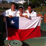 Equipo chileno masculino tuvo jornada de contrastes en el Sudamericano Sub-16 de Tenis