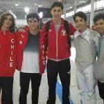 Chile cerró su participación en el Mundial Junior y Cadete de Esgrima