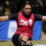 Fernanda Naser entrega la tercera medalla para Chile en el Panamericano de Esquí Naútico