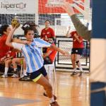 Chile cae frente a Argentina en nueva jornada del Panamericano Juvenil Femenino de Handball