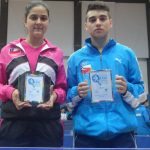 Dos medallas cosechó Chile en el Sudamericano Infantil Juvenil de Tenis de Mesa
