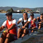 Remeros de Valparaíso, Concepción y Valdivia participarán en el Sudamericano Juvenil y Sub 23