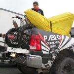 Desafío Ruta 40 nuevamente suspendió etapa por mal tiempo en Argentina