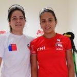 Carla Muñoz alcanzó los octavos de final del Panamericano de Racquetball