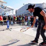 Ministerio del Deporte implementó talleres recreativos en albergues para afectados por incendio en Valparaíso
