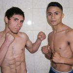 """""""Aguja"""" González y """"Pancora"""" Velásquez cumplieron con ceremonia de pesaje"""