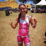 Valentina Carvallo logró el séptimo lugar en el Ironman 70.3 de St. Croix