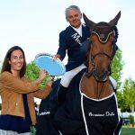 Equitador Samuel Parot logró un gran triunfo en Madrid