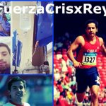 Atleta Cristian Reyes comienza la carrera más importante de su vida