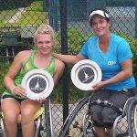 Francisca Mardones se coronó campeona en dobles del Abierto de Atlanta