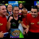 "Carolina ""Crespa"" Rodríguez se coronó campeona mundial peso Gallo de la FIB"