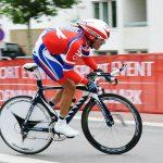 Carlos Oyarzún toma el liderato de la Vuelta Ciclista de Uruguay