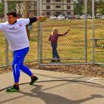 Discóbolo Maximiliano Alonso evalúa el retiro de la actividad deportiva por falta de recursos
