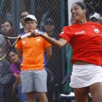 Daniela Seguel alcanzó la final de dobles en el ITF de Cagnes-Sur-Mer