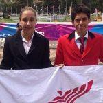 Dupla de Esteban Bustos y Javiera Rosas logró el puesto 15 en Copa Mundial de Pentatlón Moderno