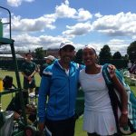 Daniela Seguel logra histórico paso al cuadro principal de dobles en Wimbledon