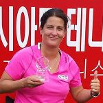 Francisca Mardones logró el segundo lugar del Abierto de Corea del Sur