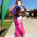 Valentina Carvallo logró el sexto puesto del Ironman 70.3 en Vineman
