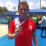 Clavadista Donato Neglia obtuvo medalla de oro en torneo realizado en Cuba