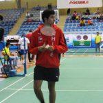 Iván León cayó en octavos de final del Panamericano Juvenil de Badminton