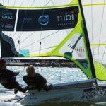 Equipo Grez continúa 2º en la Flota de Bronce del Campeonato Europeo de veleros 49er