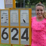 Macarena Borie gana en España con nuevo récord chileno Sub 23 de salto largo