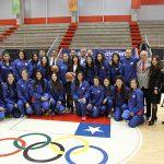 Ministra del Deporte despidió a las Selecciones Chilenas de Básquetbol Femenino Sub 18 y Adulta