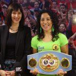 """""""Crespita"""" Rodríguez comienza la recta final hacia su defensa del Título Mundial FIB"""